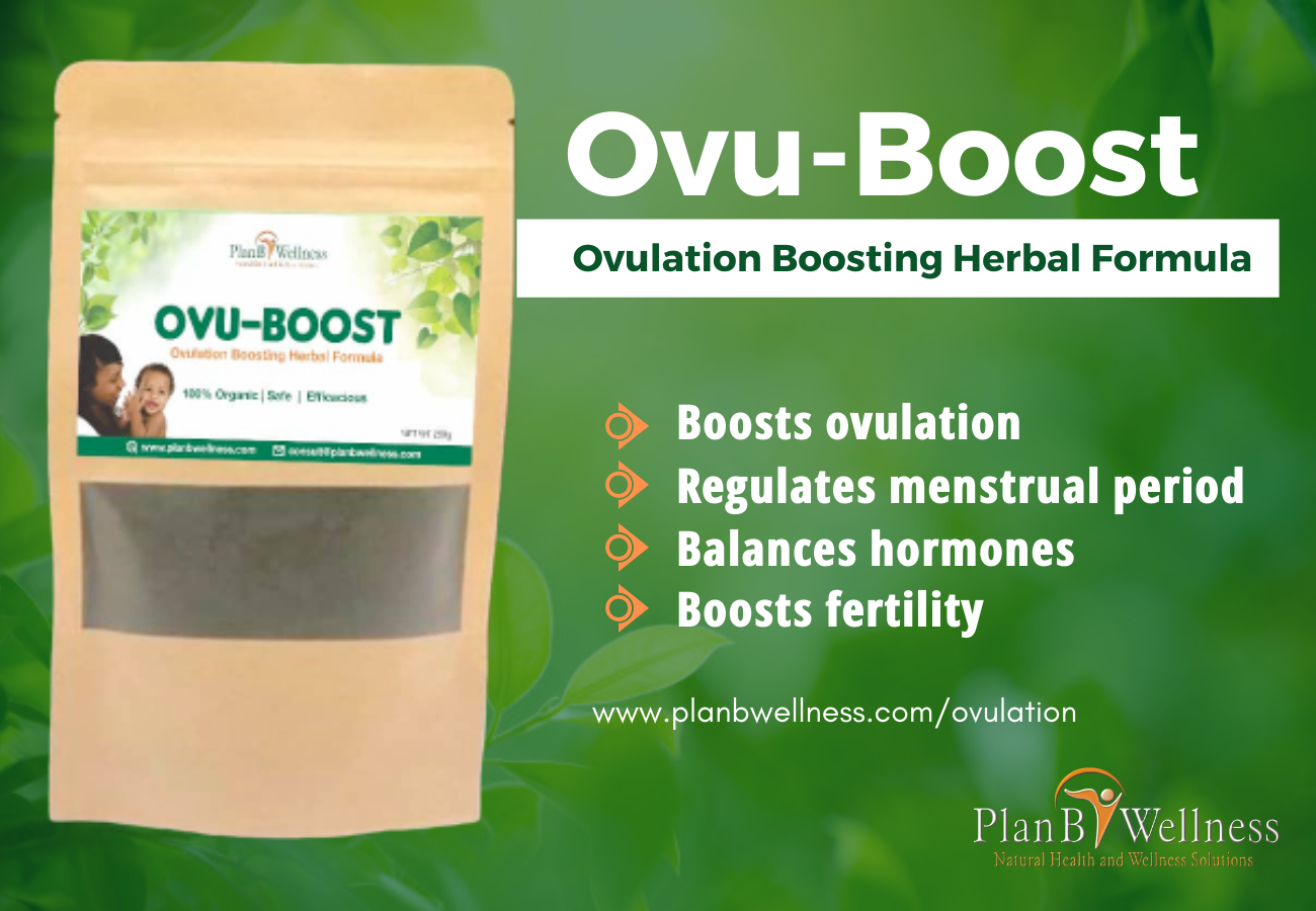 Ovu-boost: natural ovulation boosting herbal formula