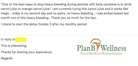fibroid diet ebook testimony