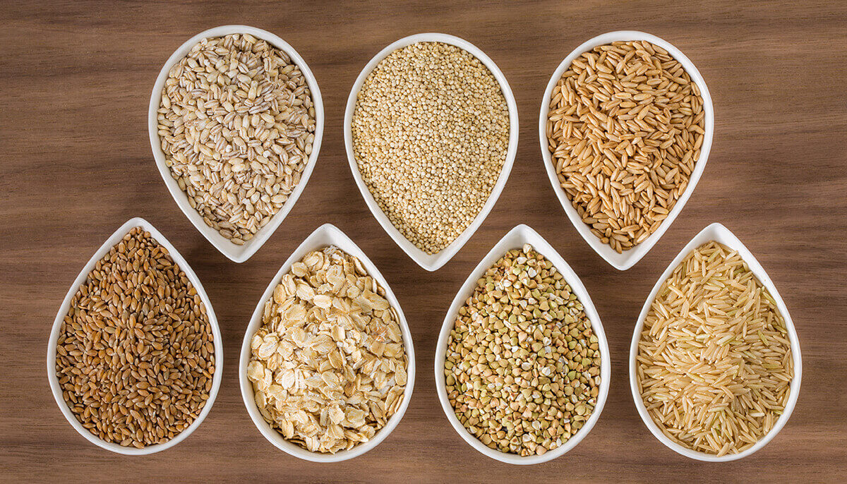 whole grains for ovulation