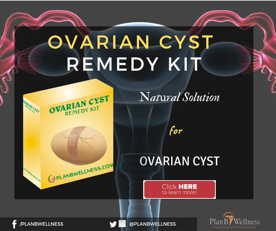 natural remedy for ovarian cyst