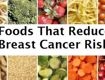 FOODS THAT REDUCE BREAST CANCER RISKS