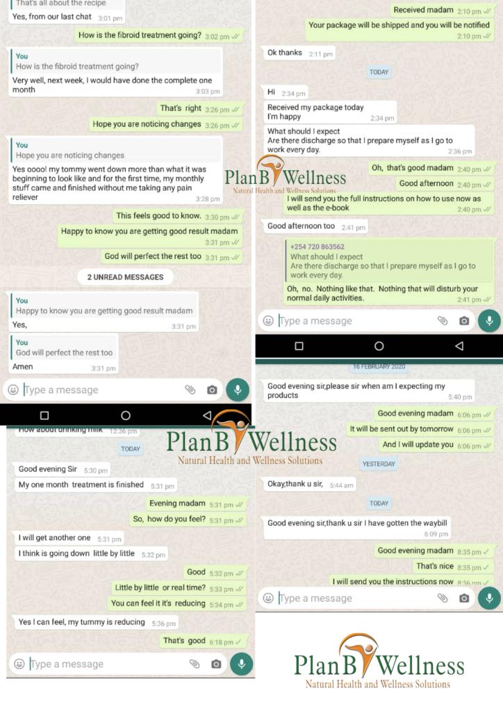 Plan B Wellness treatment testimonies and feedback
