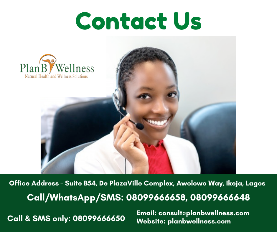 Plan B Wellness contact details