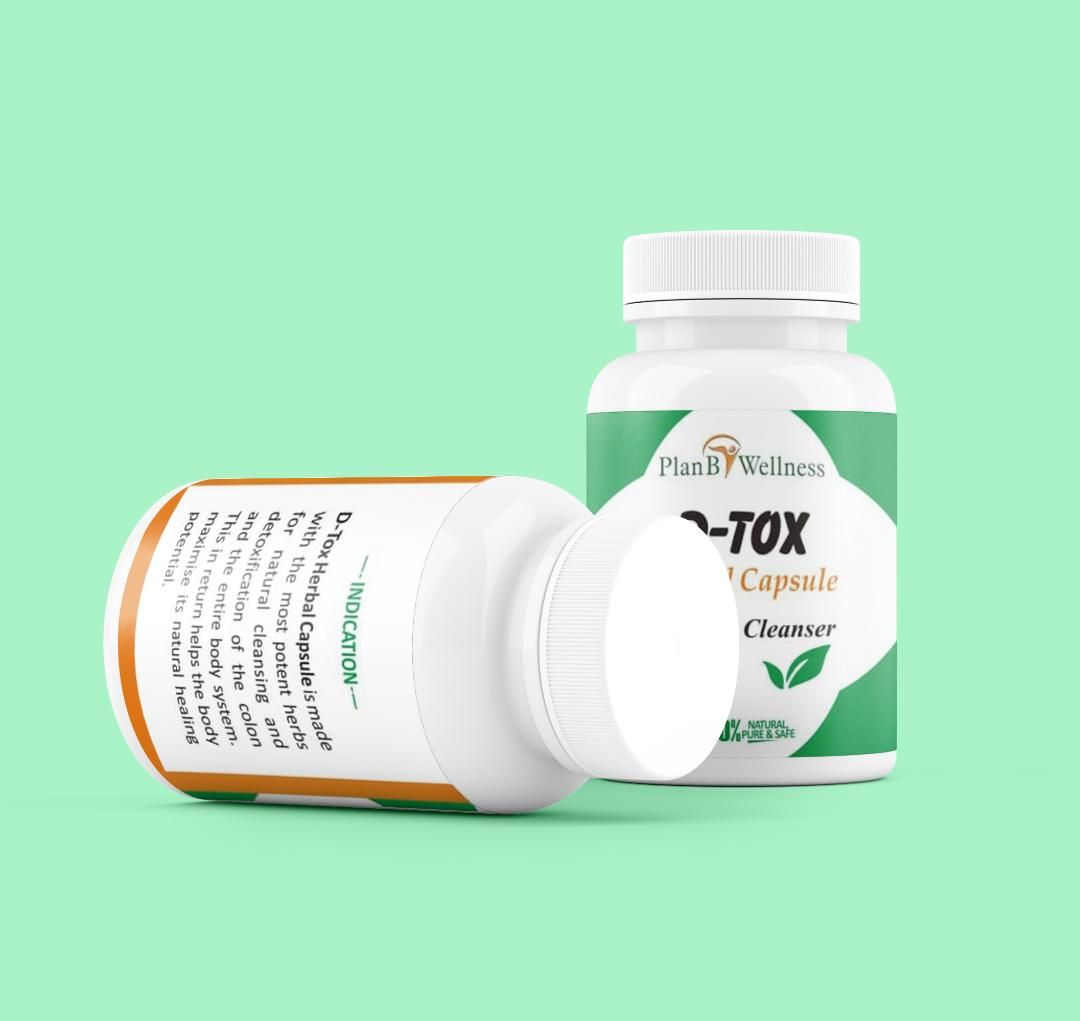 D-Tox herbal formula Plan B Wellness